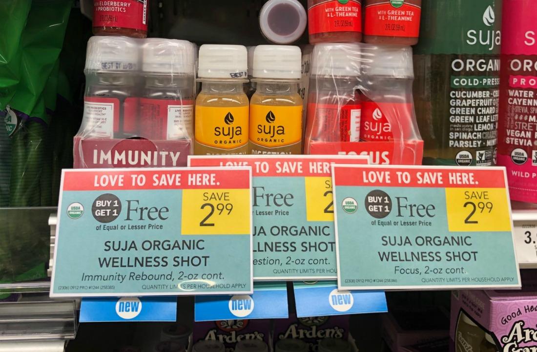 Suja Organic Wellness Shot Just 75¢ At Publix on I Heart Publix