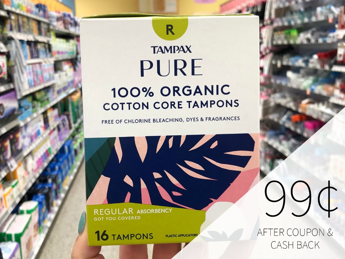 Tampax Pure Tampons Just 99¢ At Publix on I Heart Publix
