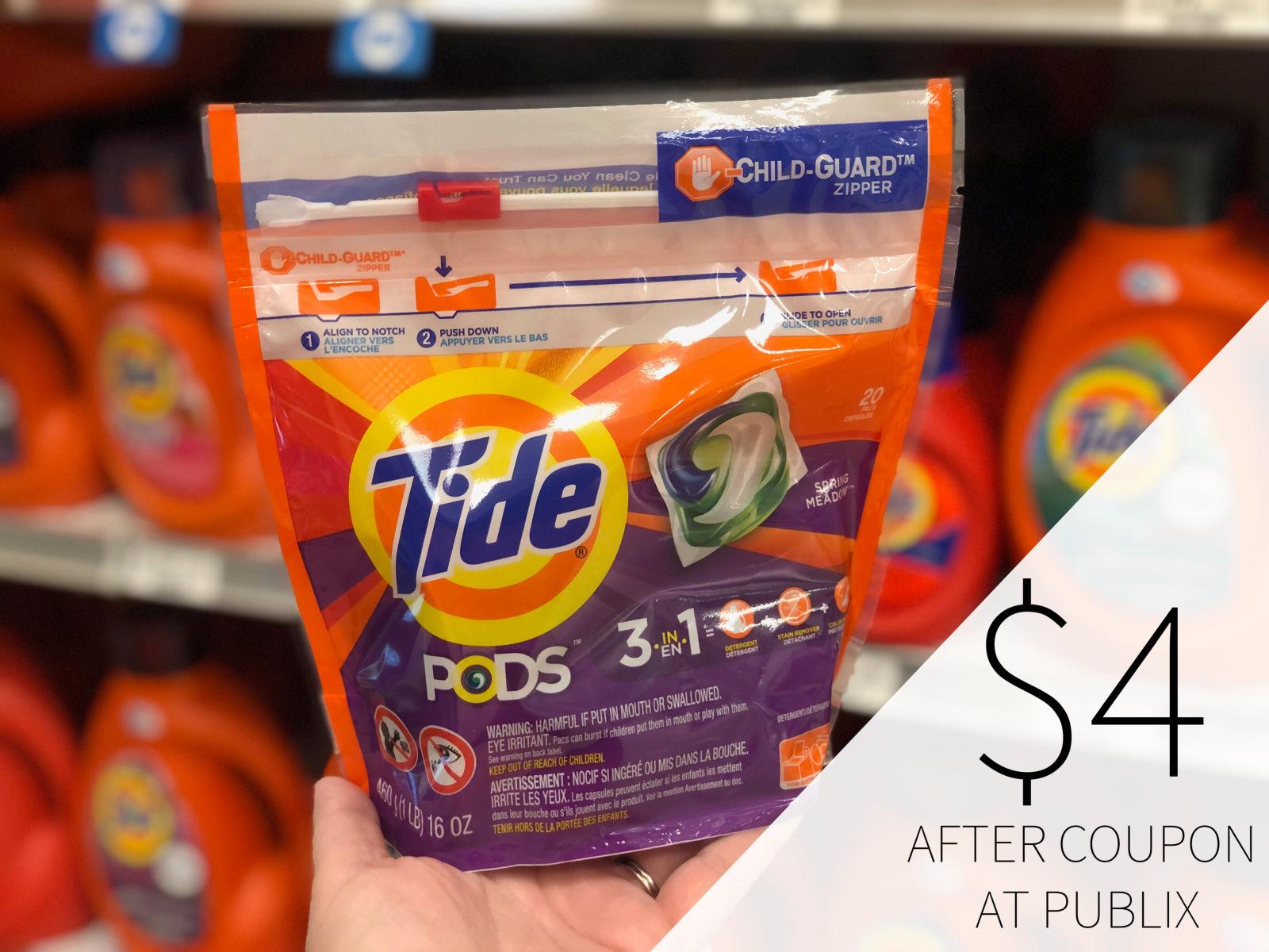 Tide Pods Only $4 At Publix on I Heart Publix 1