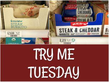 Try Me Tuesday - Publix Steak Burrito on I Heart Publix