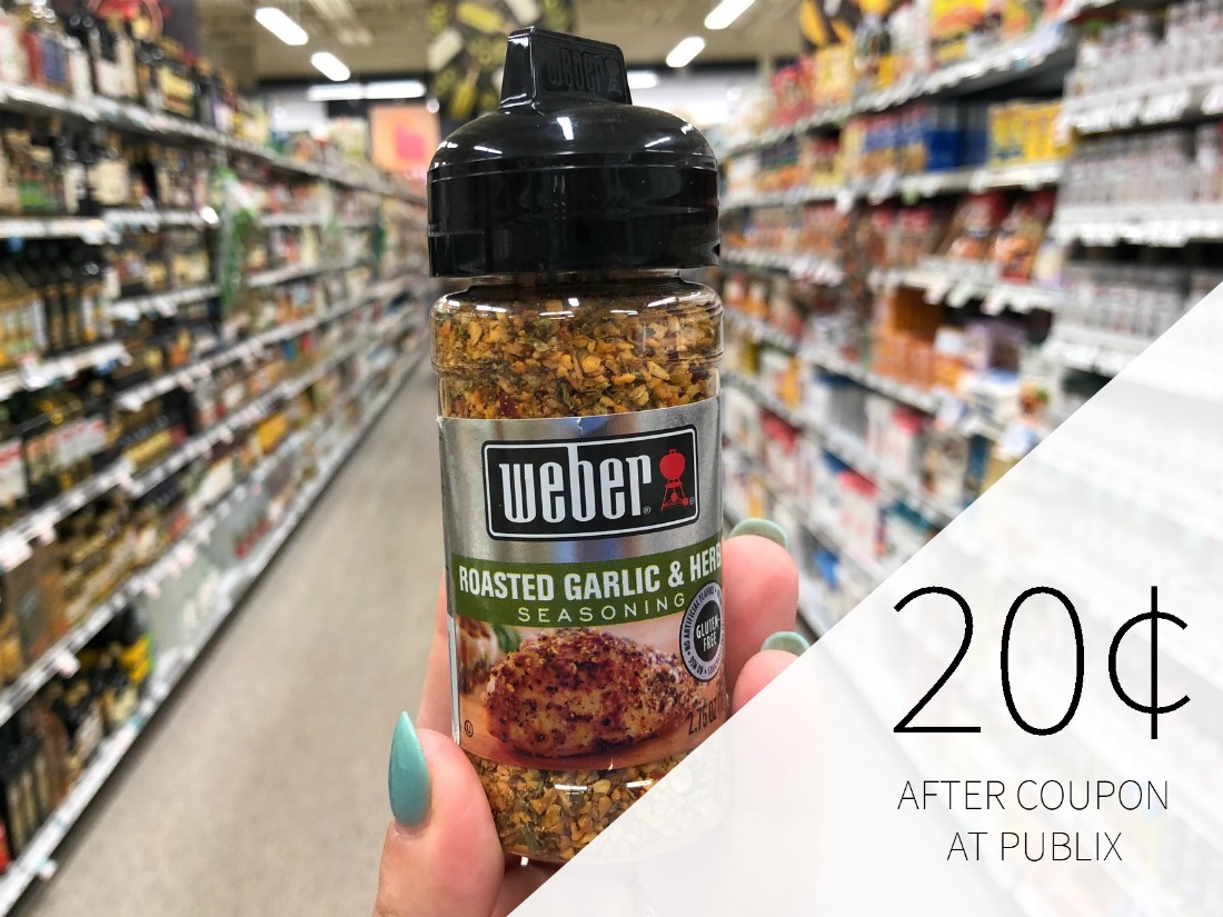 Weber Seasoning As Low As 20¢ At Publix on I Heart Publix 1