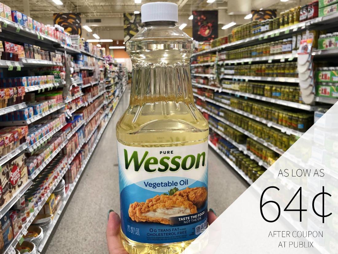Wesson Oil Coupon For Publix BOGO - As Low As 64¢ on I Heart Publix