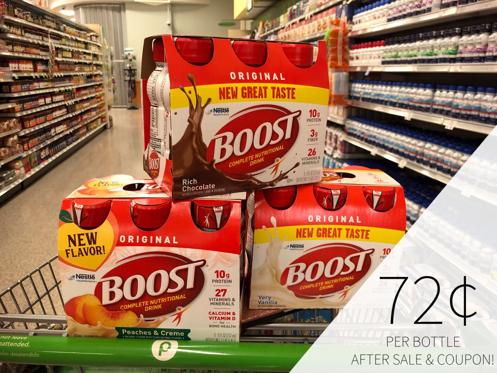 Stock Up On All Your Favorite BOOST® Nutritional Drinks This Week At Publix on I Heart Publix