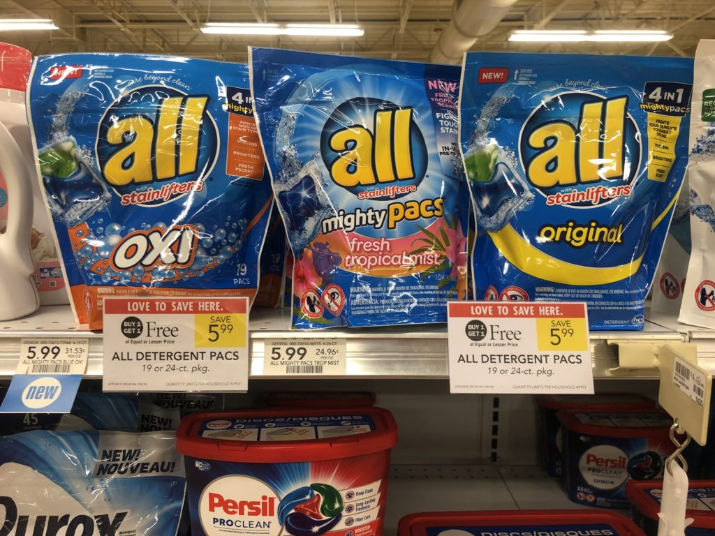 All Laundry Detergent Only $ on I Heart Publix 1