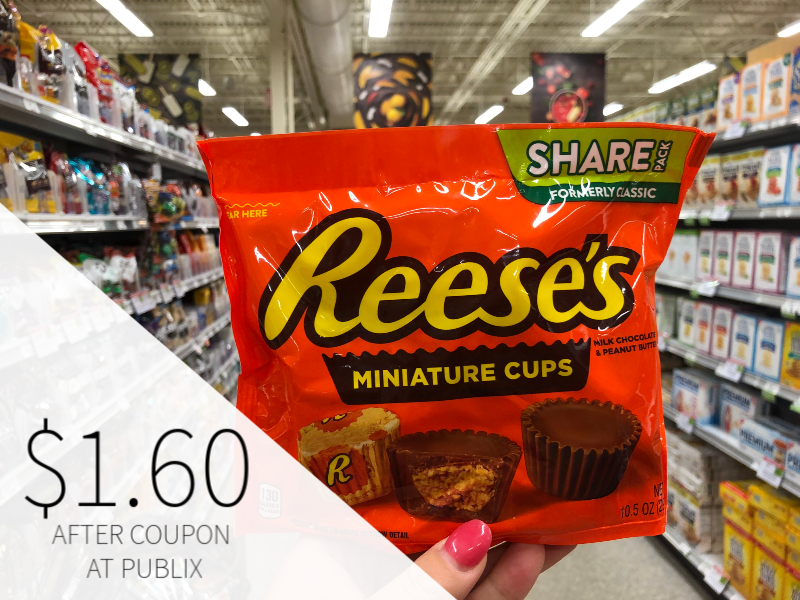 Bags Of Reese's Peanut Butter Cups Only $ on I Heart Publix 1