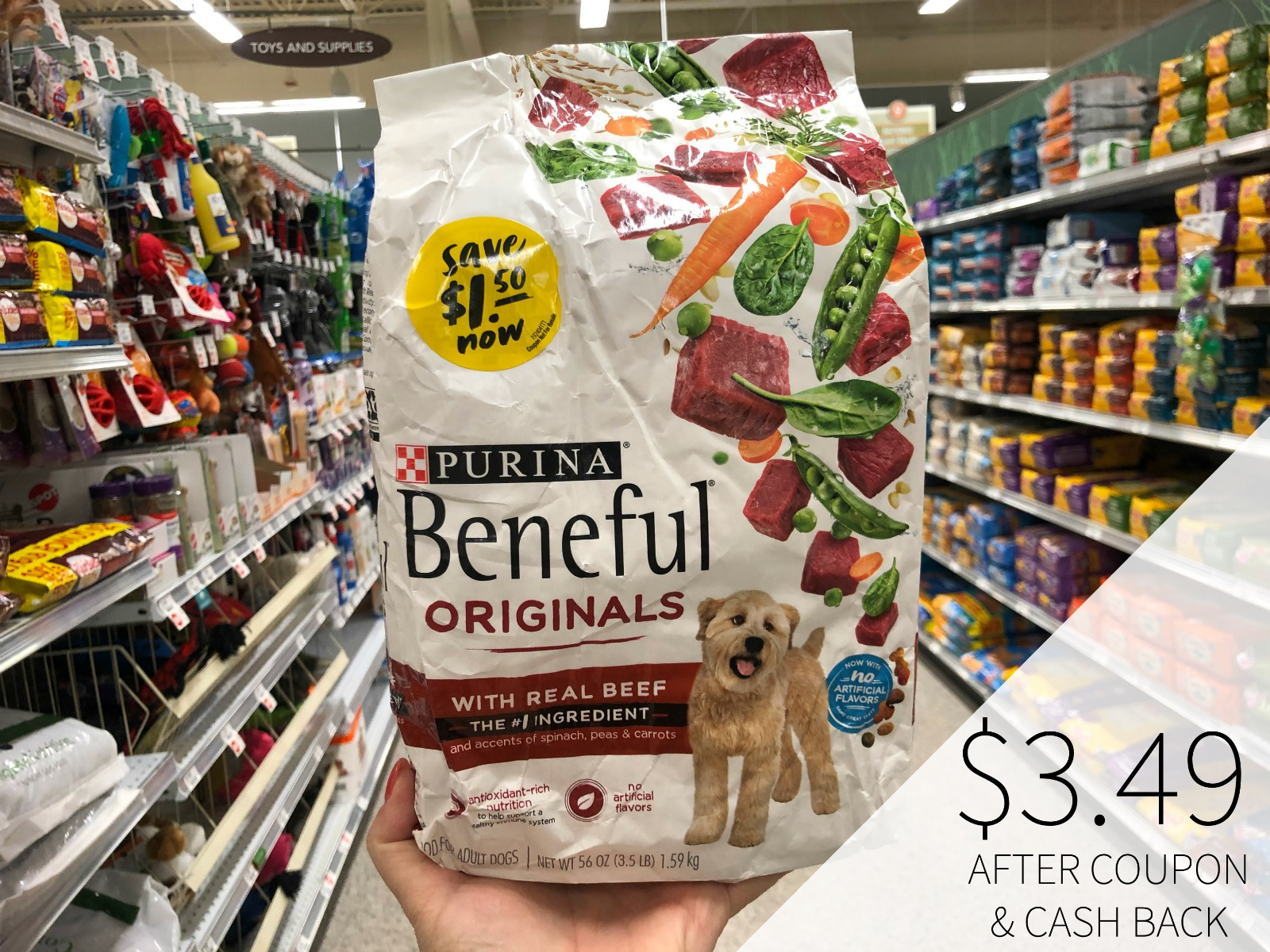 New Purina Beneful Coupons Mean Nice Deals At Publix on I Heart Publix