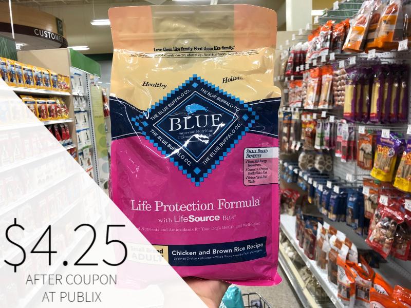 Blue Buffalo Adult Dog Food on I Heart Publix 1