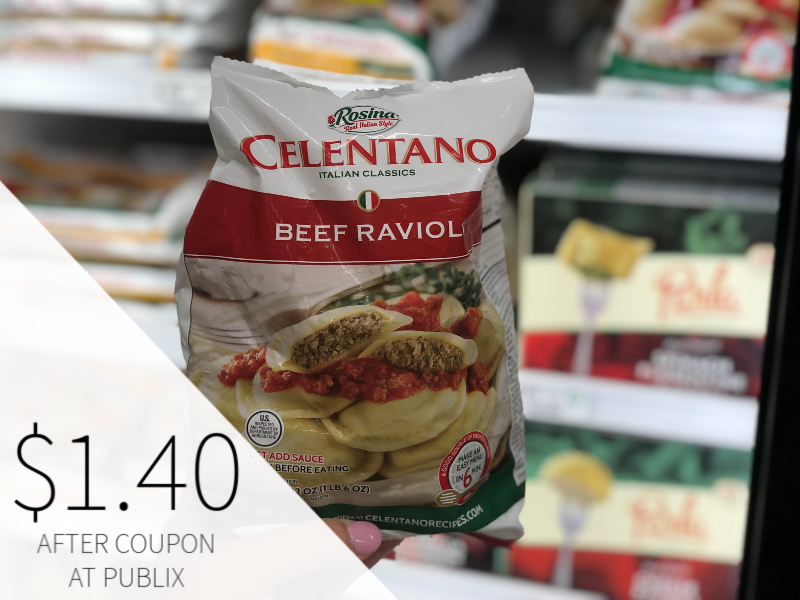 Celentano Pasta Or Eggplant Parmigiana Only $ on I Heart Publix