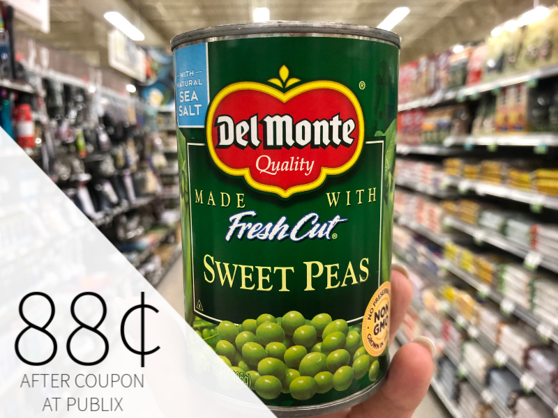 Del Monte Vegetables Only 88¢ At Publix on I Heart Publix 1