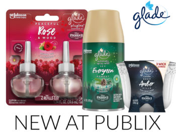 Look For New Glade®Limited Edition Holiday CollectionFragrances At Your Local Publix! on I Heart Publix
