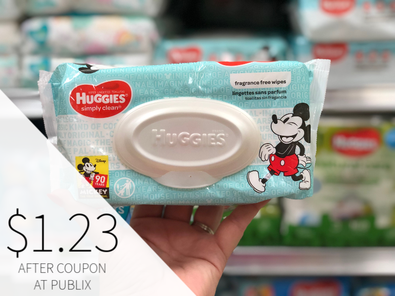 Huggies Wipes Only 36¢ At Publix on I Heart Publix