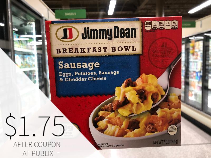 Jimmy Dean Breakfast Bowls Only on I Heart Publix