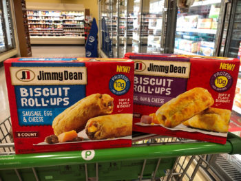 Super Deal On NEW Jimmy Dean Biscuit Roll-Ups Available Now At Publix on I Heart Publix 2