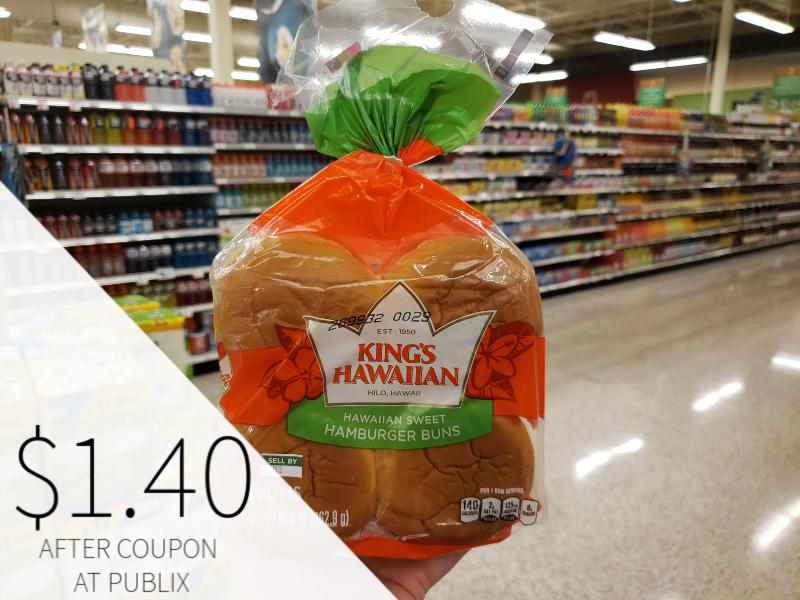 King's Hawaiian Bread Products Just $1.40 At Publix on I Heart Publix 1