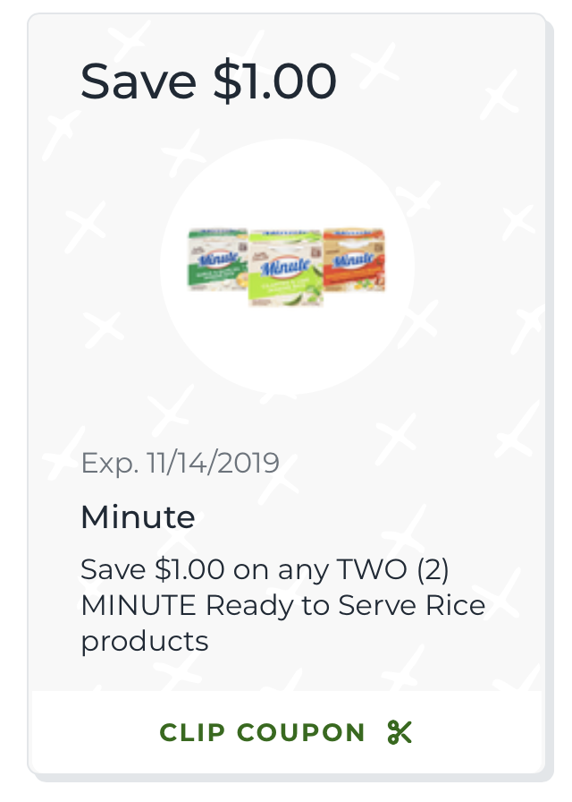 Grab Savings On Minute Rice At Publix - Try New Minute Ready To Serve & Save! on I Heart Publix 1
