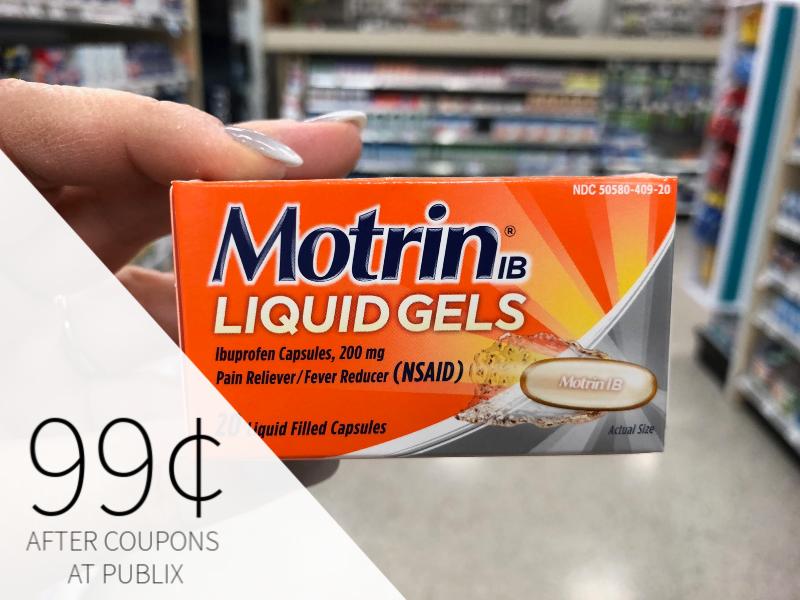 Motrin Liquid Gels Just 99¢ At Publix on I Heart Publix 1