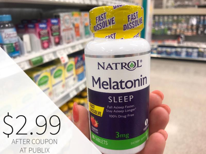 Natrol Melatonin Only $2.99 At Publix on I Heart Publix 1