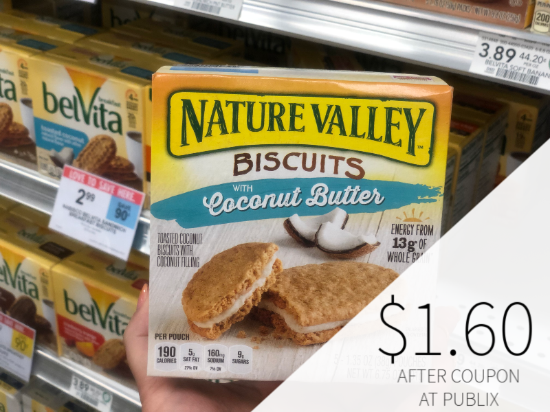 Nature Valley Breakfast Biscuits on I Heart Publix 2