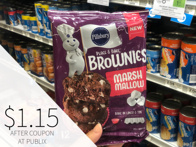 Pillsbury Place & Bake Brownies Just $1.15 At Publix on I Heart Publix
