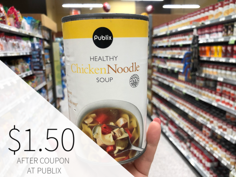 Publix Traditional Chicken Noodle Soup Just $1.50 At Publix on I Heart Publix 1