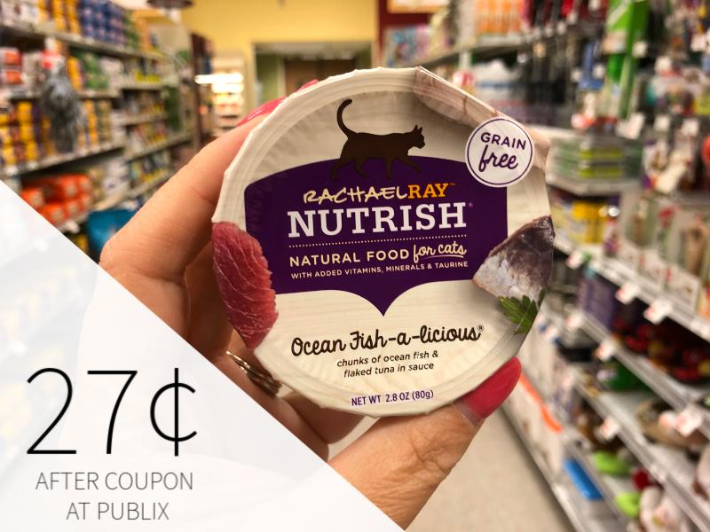 Rachael Ray Nutrish Cat Food Just 27¢ At Publix on I Heart Publix