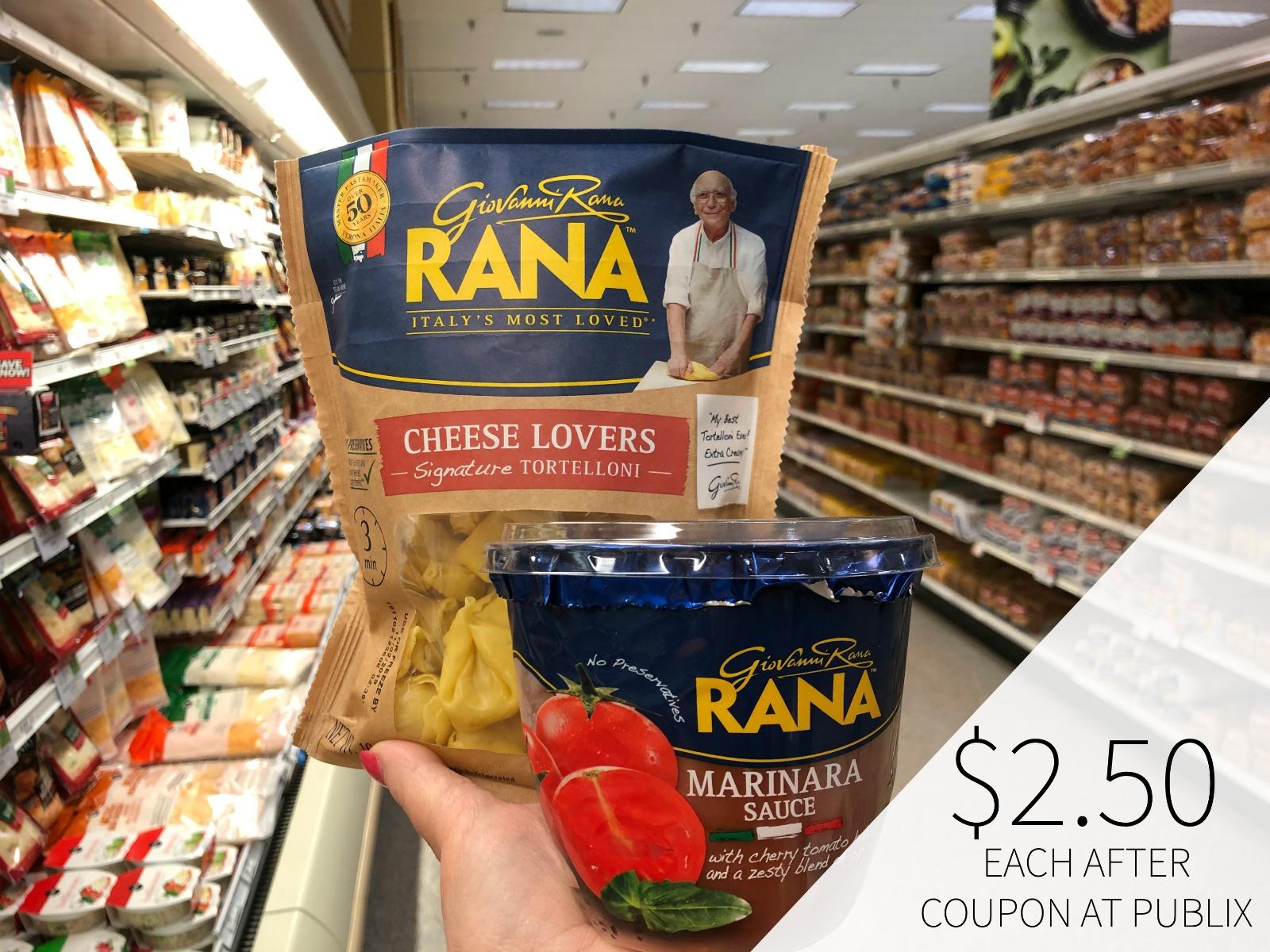Rana Pasta & Sauce Only $2.50 At Publix on I Heart Publix