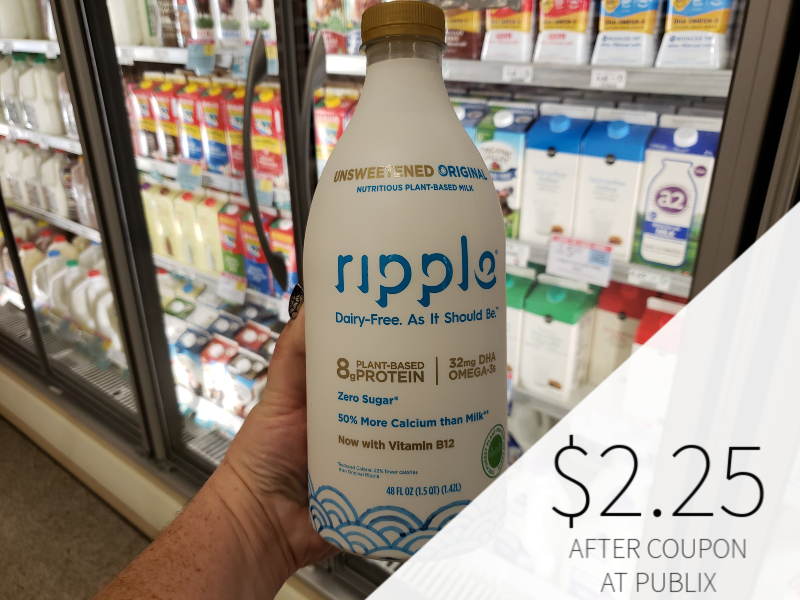 Ripple Dairy-Free Milk Just $2.25 At Publix on I Heart Publix 1