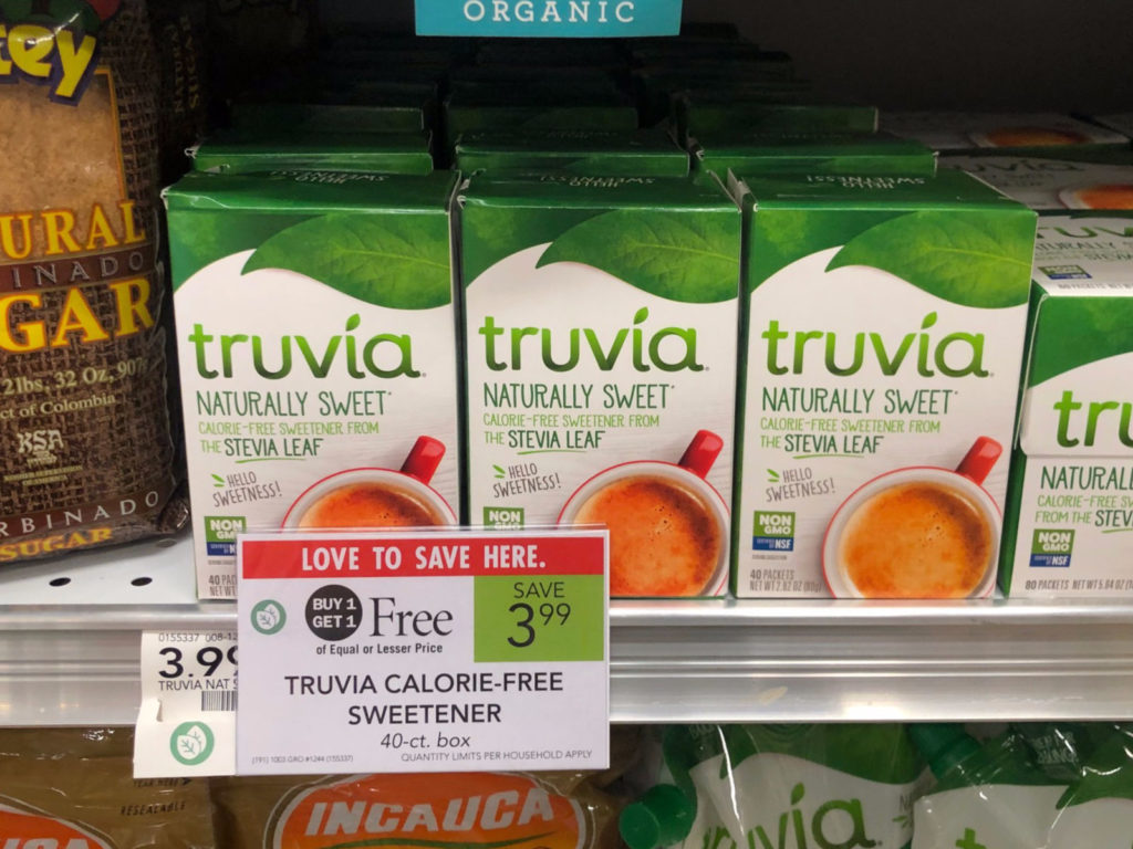 FREE Truvia Sweetener At Publix on I Heart Publix
