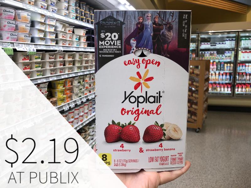 Yoplait Original Yogurt Just 27¢ Per Cup At Publix on I Heart Publix