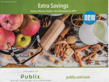 "Publix Grocery Advantage Buy Flyer – ""Extra Savings"" Valid 10/26 to 11/8 on I Heart Publix"