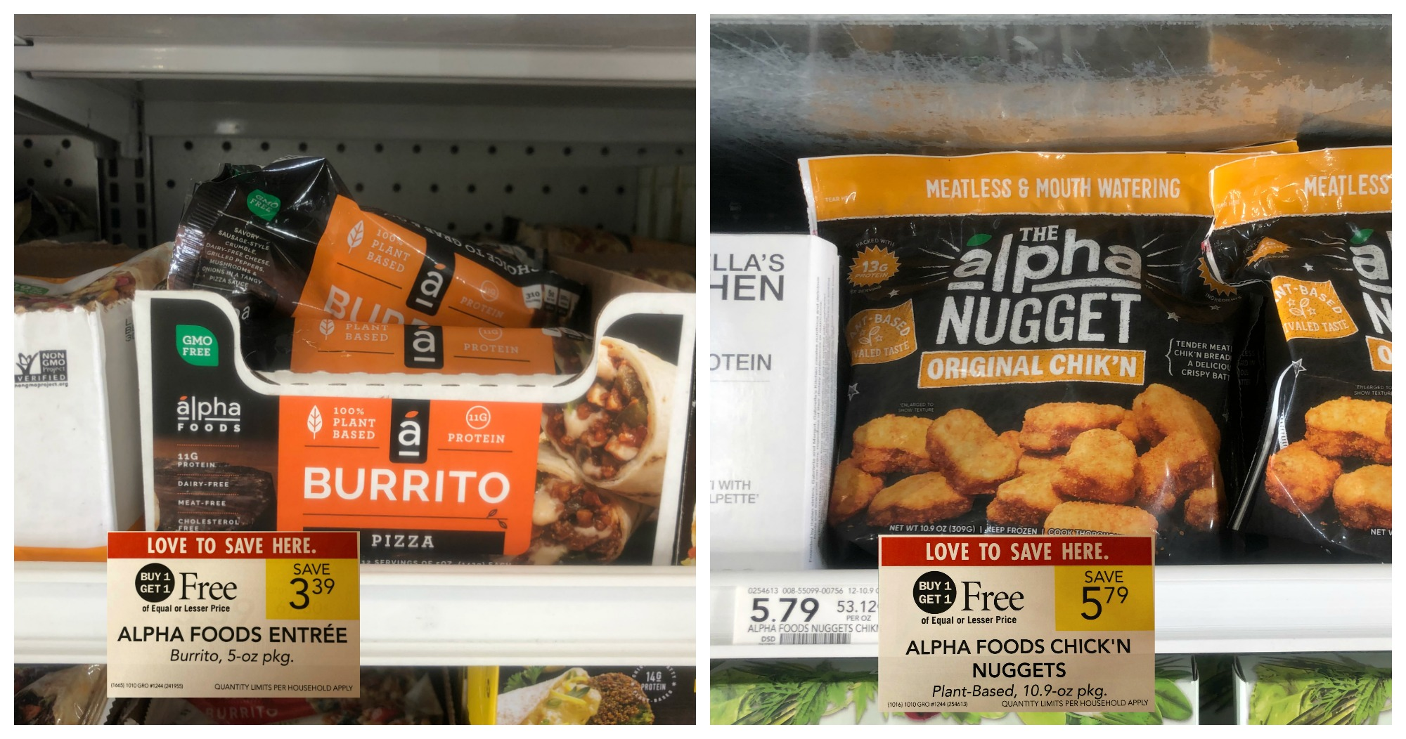 FREE Alpha Foods Burritos At Publix (Plus 90¢ Chick'n Nuggets) on I Heart Publix