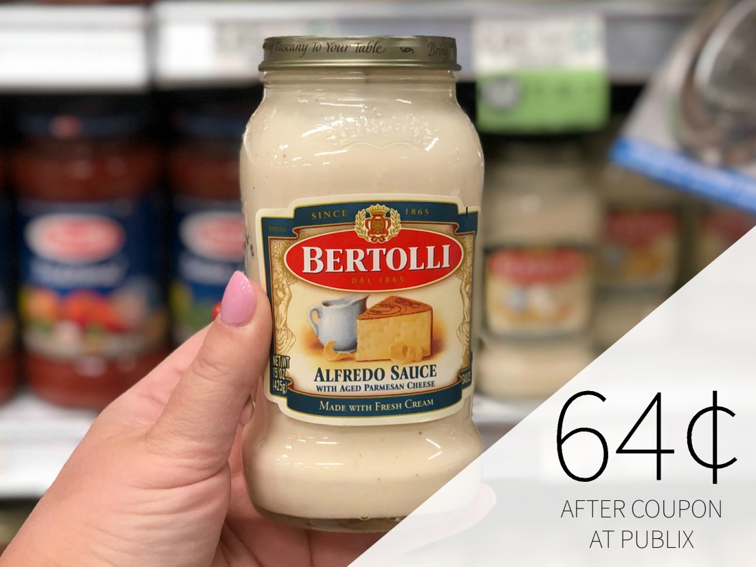Bertolli Pasta Sauce FREE This Week At Publix on I Heart Publix