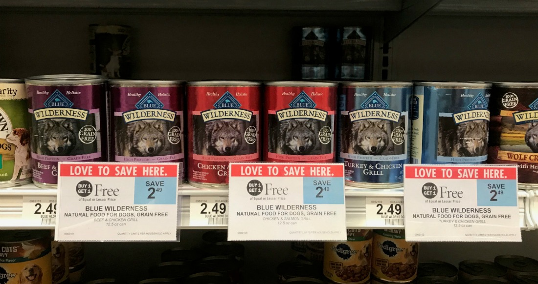 Blue Wilderness Dog Food Just 12¢ Per Can At Publix on I Heart Publix