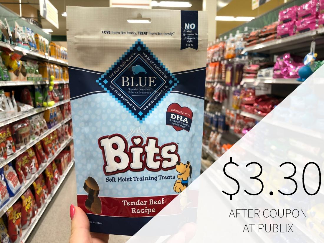 Blue Buffalo Training Treats Just $3.303 on I Heart Publix