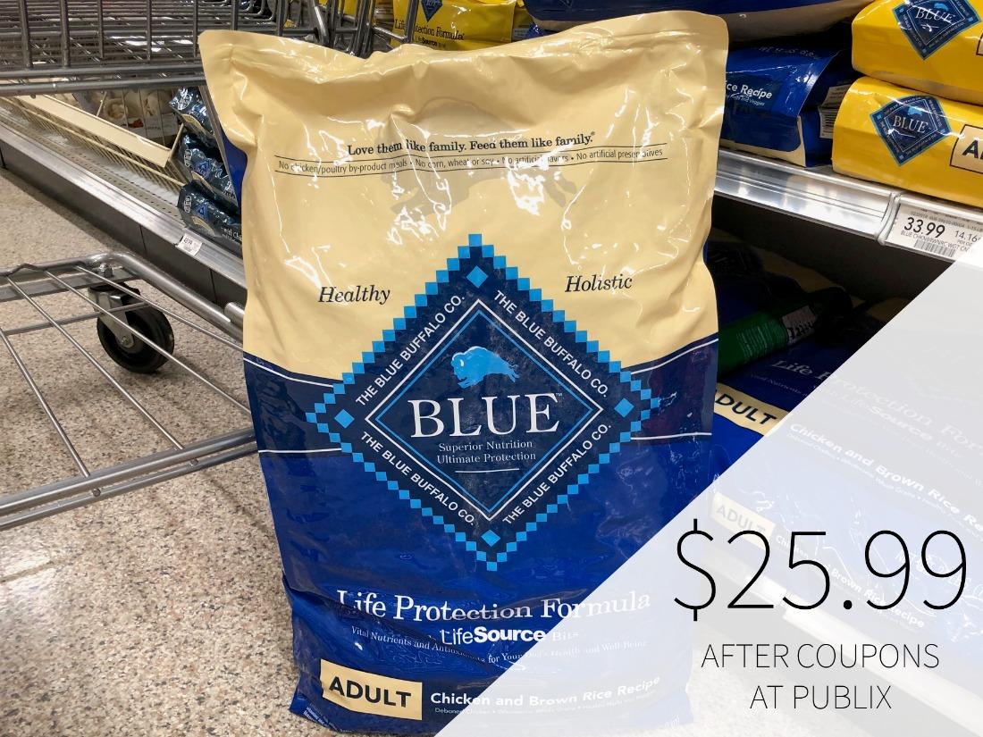 Blue Buffalo Dog Food As Low As $8.49 (Plus Save $20 On BIG Bag!!) on I Heart Publix