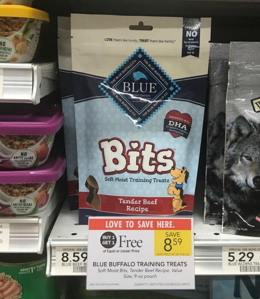 Blue Buffalo Training Treats Just $3.30 Per Bag At Publix on I Heart Publix
