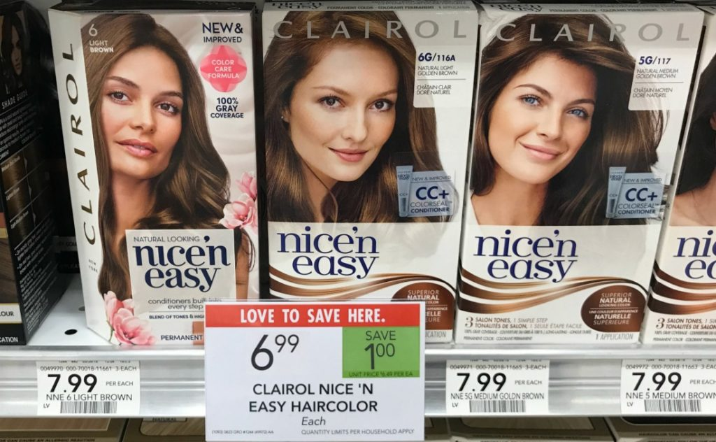 Clairol Nice 'N Easy Haircolor Only $3.99 At Publix on I Heart Publix 1