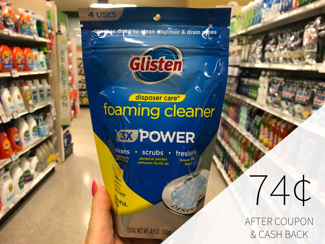 Glisten Disposer Care Foaming Cleaner Just 74¢ At Publix on I Heart Publix 1