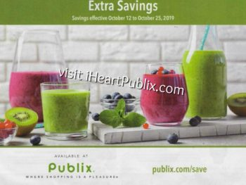 Publix Grocery Flyer, 10/12 to 10/25 on I Heart Publix