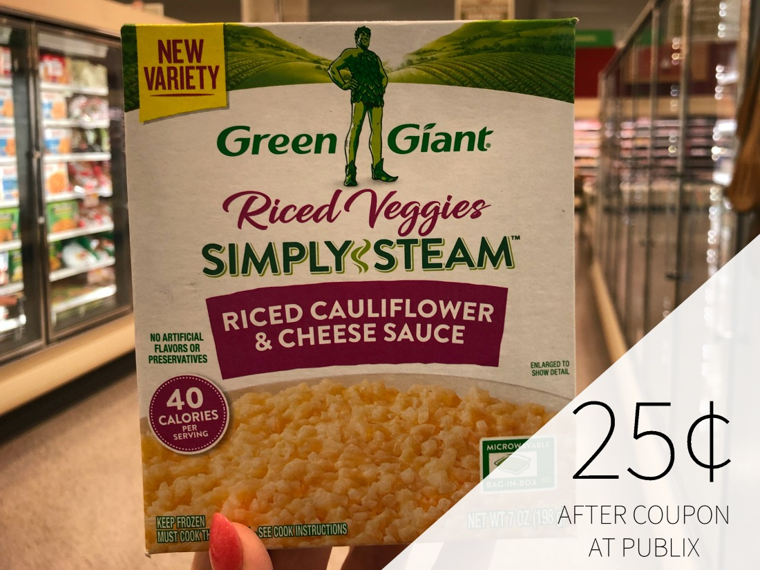 Green Giant Riced Veggies Just 25¢ At Publix on I Heart Publix 1