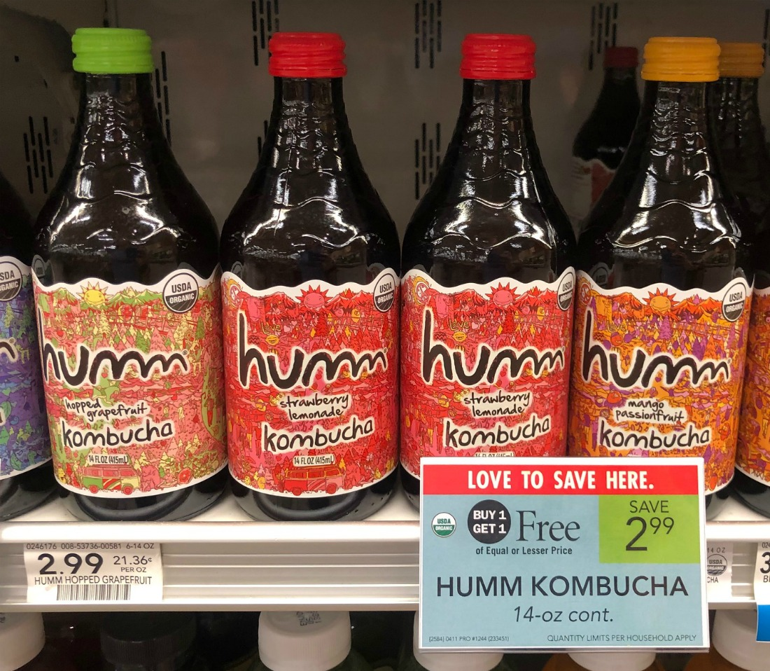 Humm Kombucha FREE At Publix on I Heart Publix