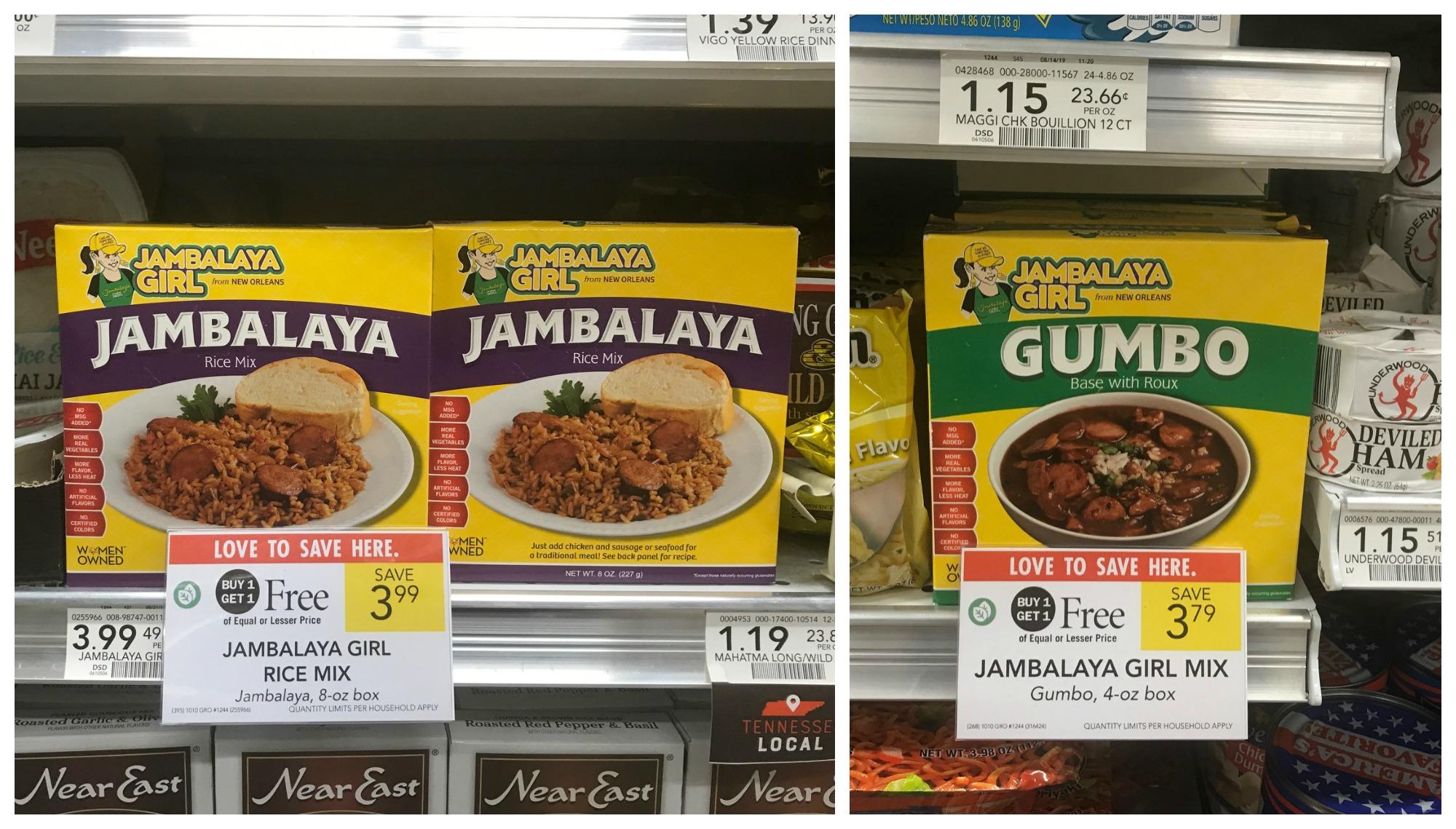 Bread Bowl Jambalaya - Amazing Recipe To Go With The Jambalaya Girl BOGO Sale At Publix! on I Heart Publix