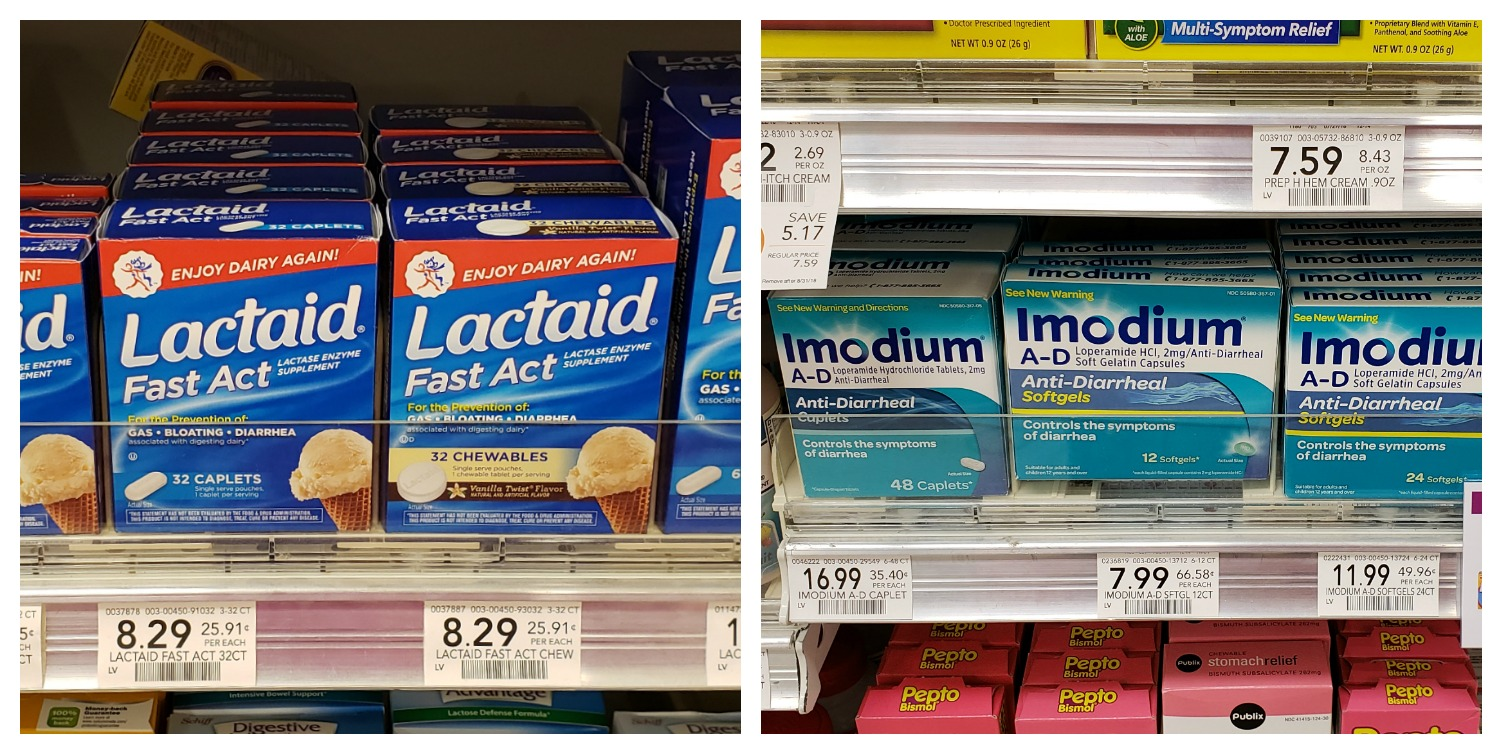 Get A $9 Fandango Reward With The Purchase Of Two Pepcid, Lactaid Or Immodium Products! on I Heart Publix