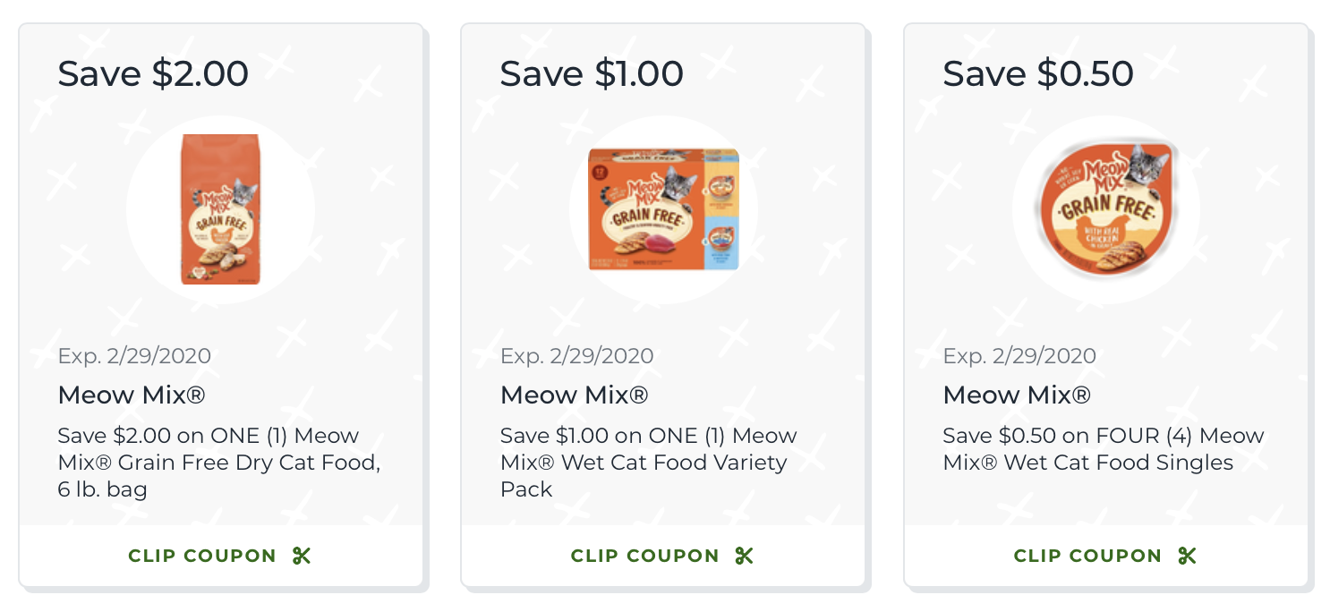 Look For New Meow Mix Grain Free Cat Food At Your Local Publix on I Heart Publix 1
