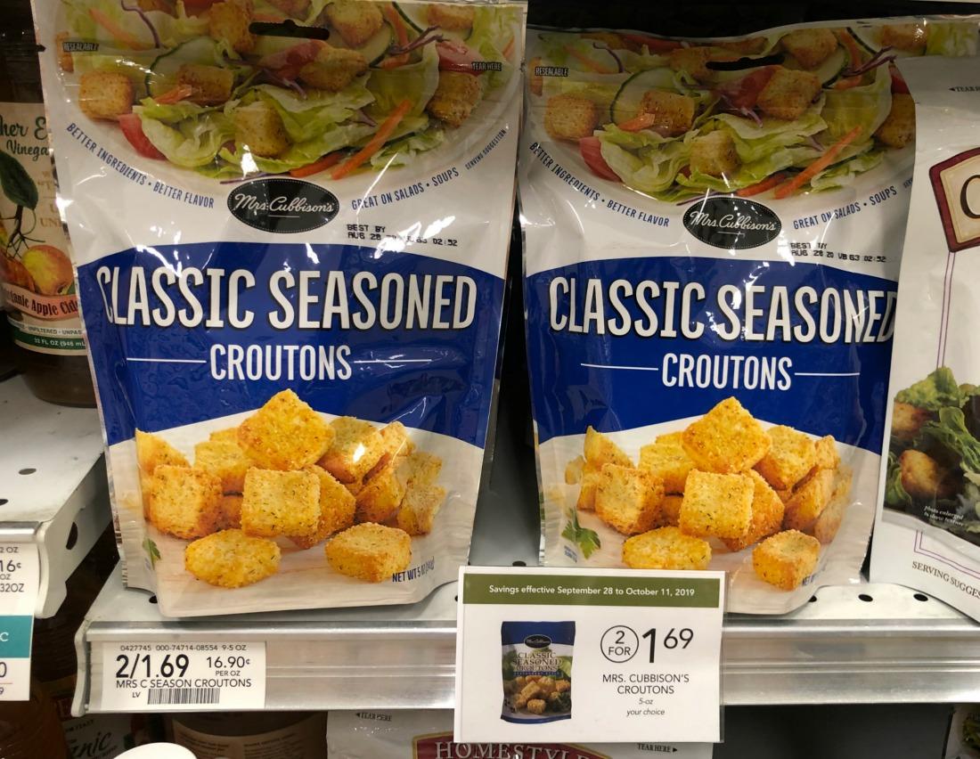 Mrs. Cubbison's Croutons Just 5¢ At Publix on I Heart Publix 2