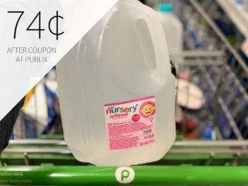Nursery Water 1-Gallon Jugs Only 78¢ At Publix on I Heart Publix 1