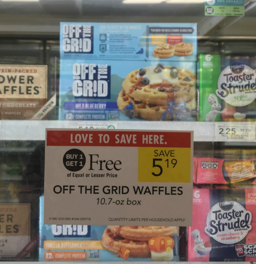Off The Grid Waffles Just $2.10 At Publix (Save Over $3) on I Heart Publix 1