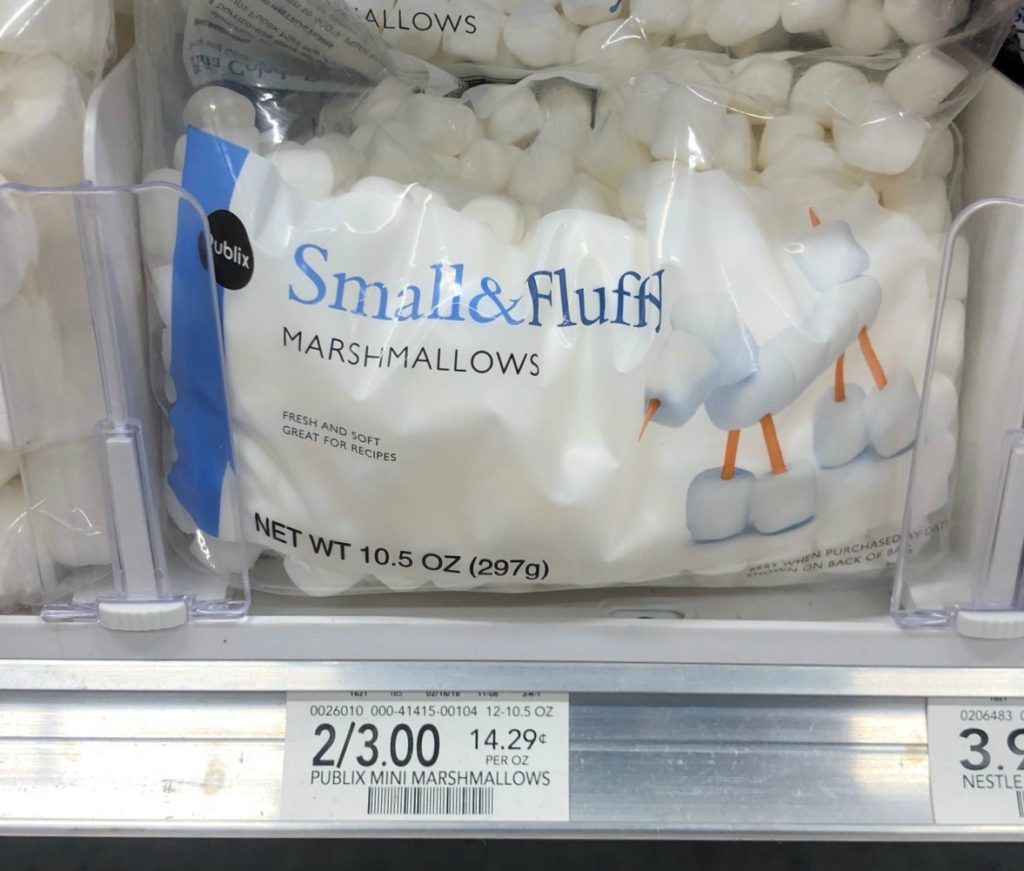 Publix Mini Marshmallows Just $1 At Publix on I Heart Publix