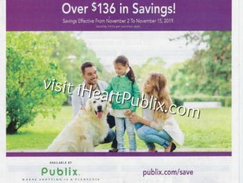 Publix Health & Beauty Advantage Buy Flyer Valid 11/2 to 11/15 on I Heart Publix