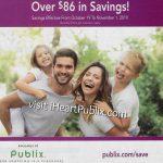 Publix H&B Flyer, 10/19 to 11/1 on I Heart Publix